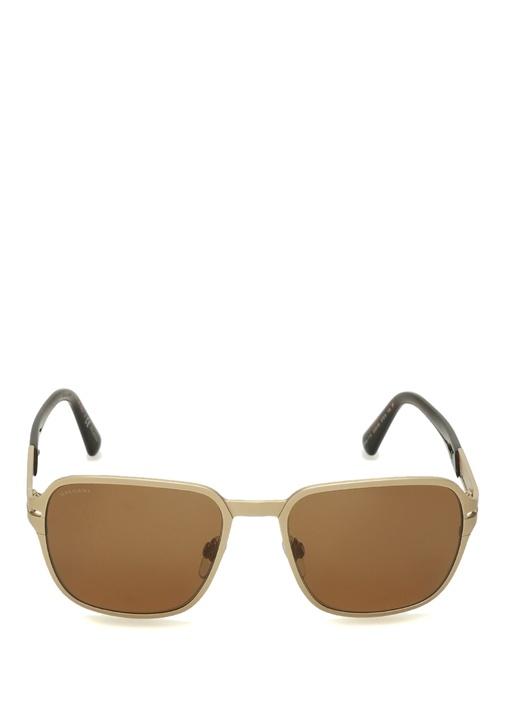 Gold Siyah Kare Formlu Kadın Güneş Gözlüğü