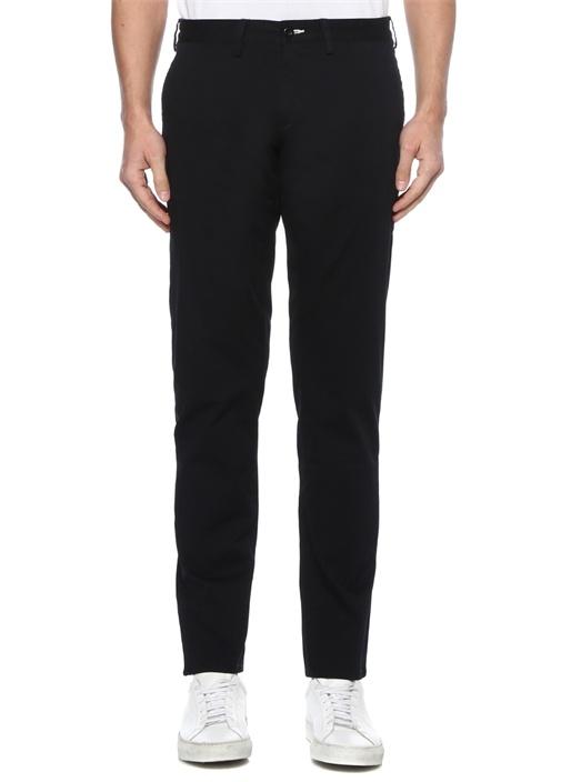 Slim Fit Siyah Normal Bel Chino Pantolon