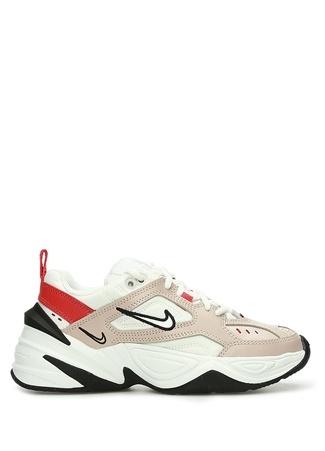 Nike Kadın M2K Tekno Bej Beyaz Deri Sneaker 39 EU Çok Renkli female