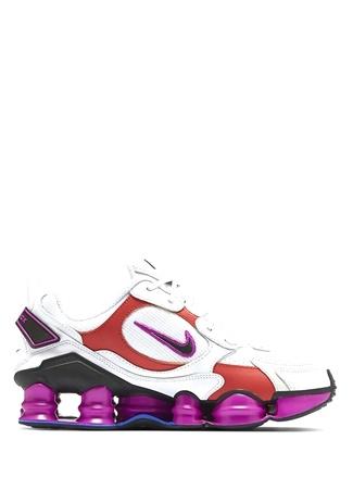 Nike Erkek Shox Tl Nova Beyaz Logolu Sneaker 44 EU male