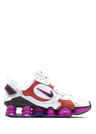 Nike Kadın Shox Tl Nova Beyaz Logolu Sneaker 38.5 EU female