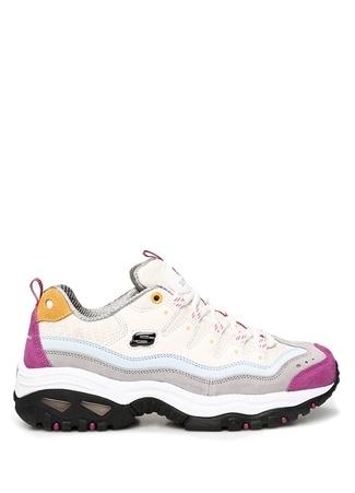 Skechers Kadın Energy Colorblocked Logolu Sneaker 37 EU Çok Renkli female