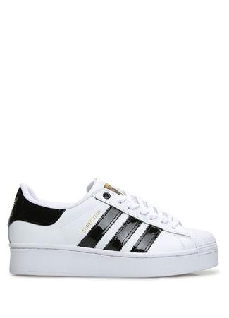 Adidas Kadın Superstar Bold Beyaz Siyah Sneaker 6.5 UK female