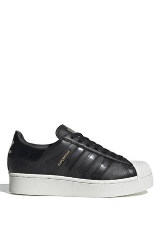 Adidas Kadın Superstar Bold Siyah Beyaz Sneaker 6 UK female