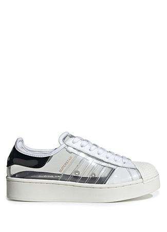 Adidas Kadın Superstar Bold Sneaker Beyaz 4 UK female