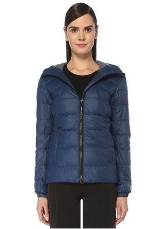 Canada Goose Kadın Abbott Lacivert Kapüşonlu Puff Mont Mavi XS EU