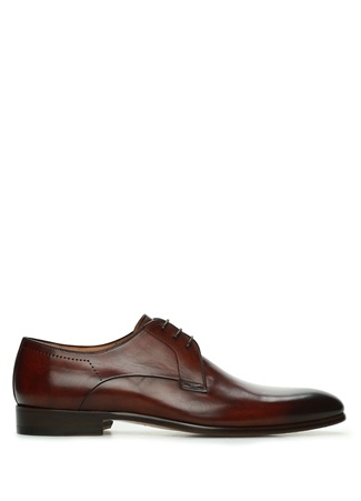 Magnanni Erkek Kahverengi Deri Ayakkabı Turuncu 40 EU male