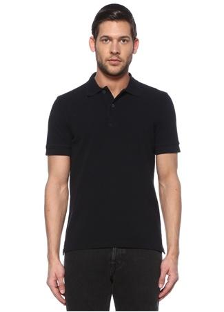 Tom Ford Erkek Lacivert Polo Yaka T-shirt 52 IT male