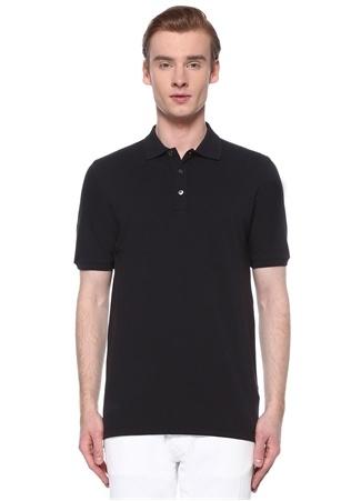 Alpha Studio Erkek Lacivert Polo Yaka T-shirt 48 IT male