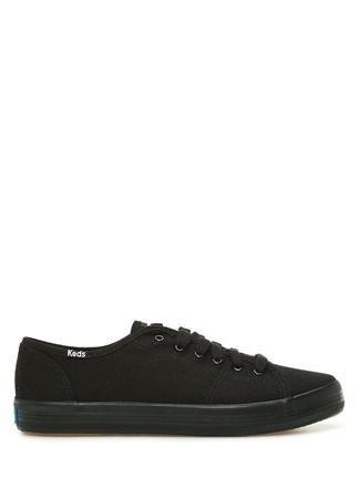 KEDS Kadın Siyah Kanvas Sneaker 38 EU female