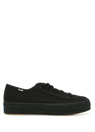 KEDS Kadın Siyah Kanvas Sneaker 36 EU female