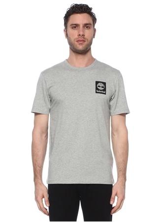 Timberland Erkek SS Back Logo Camo Gri Baskılı T-shirt XL EU male