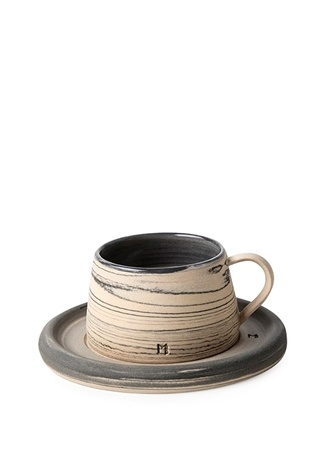 Masuma Ceramics FİNCAN SETİ Lacivert Standart