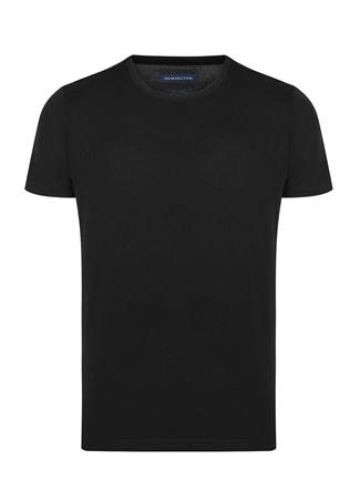 Hemington Erkek Siyah Bisiklet Yaka T-shirt XL EU male