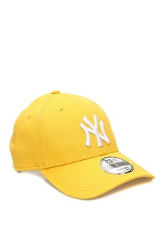 New Era Erkek York Yankees Hardal Nakışlı Şapka Sarı EU male Standart