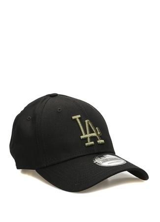 New Era Erkek Los Angeles Siyah Nakışlı Şapka EU male Standart