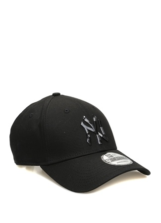 New Era Erkek York Yankees Siyah Nakışlı Şapka EU male Standart
