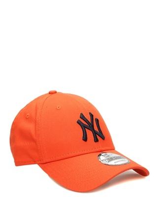 New Era Erkek York Yankees Turuncu Nakışlı Şapka EU male Standart
