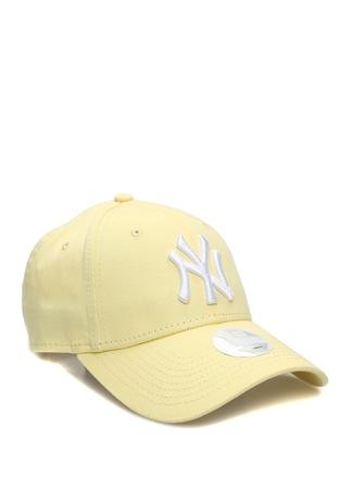 New Era Kadın York Yankees Sarı Nakışlı Şapka EU female Standart