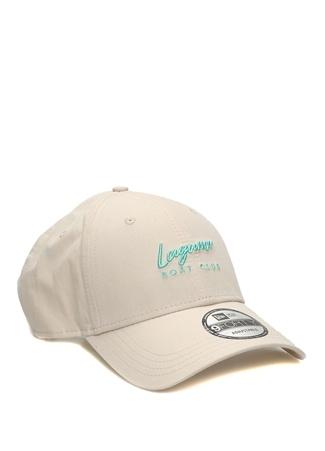 New Era Kadın Laguna Boat Club Bej Nakışlı Şapka Beyaz EU female Standart