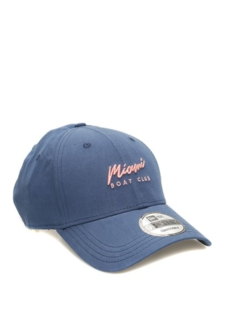 New Era Kadın Miami Boat Club Mavi Nakışlı Şapka EU female Standart