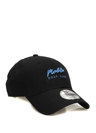 New Era Kadın Miami Boat Club Siyah Nakışlı Şapka EU female Standart