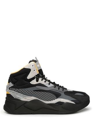 Puma Erkek X HELLY HANSEN RS MID Gri Sneaker Siyah 43 EU male