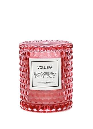 Voluspa Blackberry Rose Oud Mum Pembe Standart