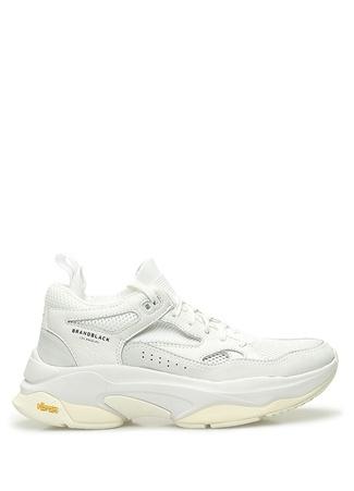 Brand Black Erkek Saga Beyaz File Garnili Sneaker 7.5 US male