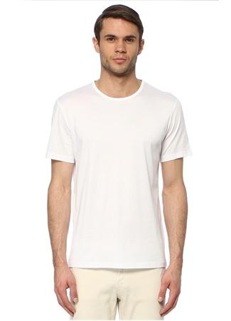 Network Erkek Slim Fit Beyaz T-shirt XL EU male