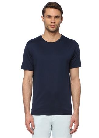 Network Erkek Slim Fit Indigo T-shirt Mavi L EU male