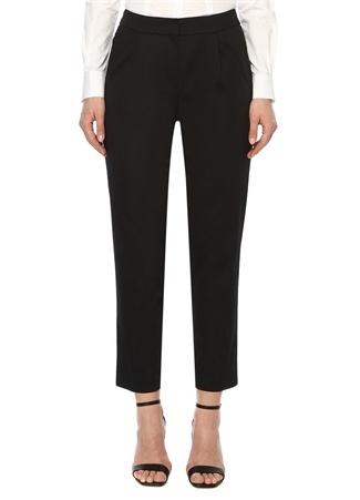 Network Kadın Slim Fit Siyah Pantolon 42 EU female