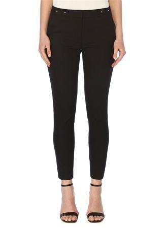 Network Kadın Slim Fit Siyah Pantolon 34 EU female