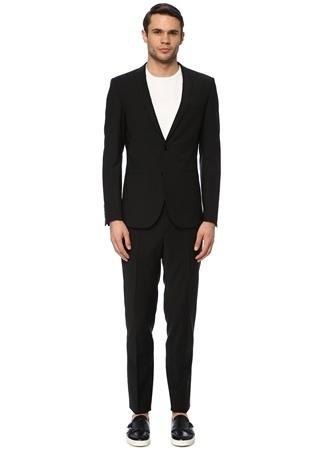 Network Erkek Slim Fit Siyah Takım Elbise 54-6N EU male