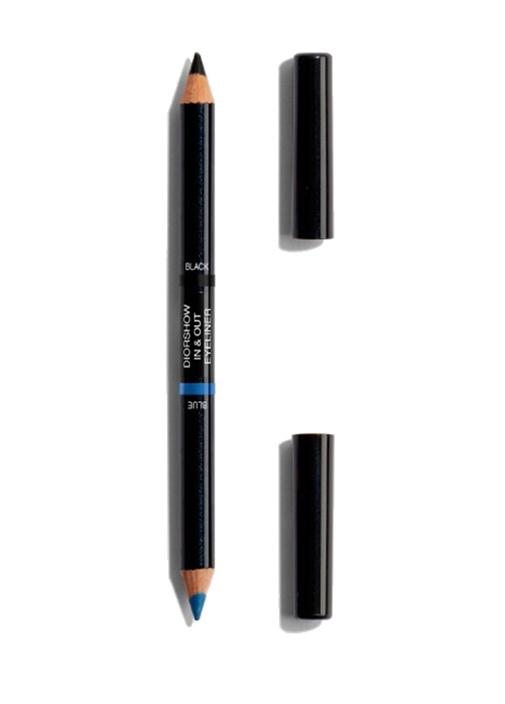 Summer Look 001 Blue Black Eyeliner