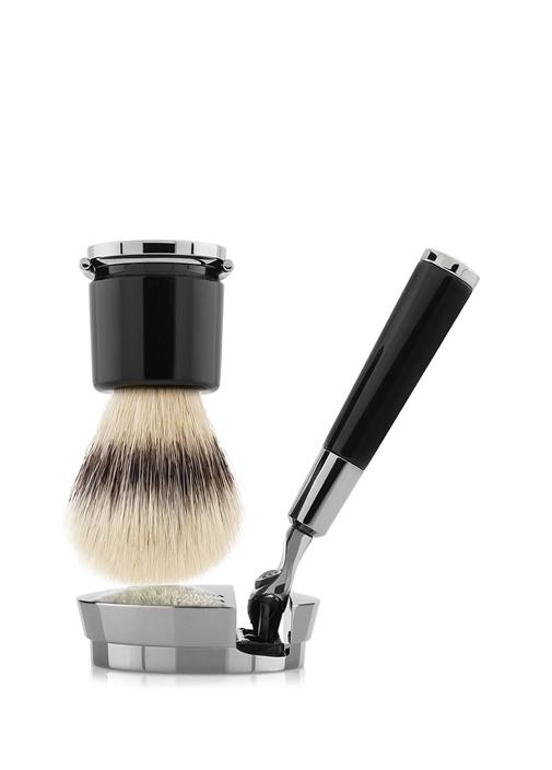 Barbiere Black Deluxe Stand Tıraş Takımı
