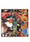 Çiçek Desenli İpek Twill 90x90 cm KadınEşarp