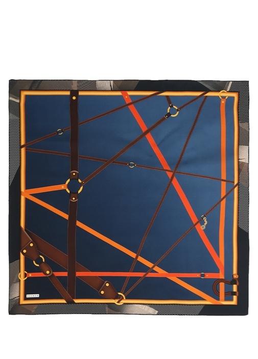 Beymen Kemer Baskılı Twill İpek 90×90 Cm Kadıneşarp – 149.0 TL