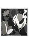 Çiçek Desenli Twill İpek 90x90 cm KadınEşarp