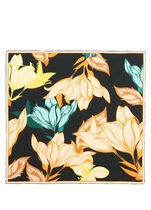 Beymen Çiçek Desenli İpek Twill 90×90 Cm Kadıneşarp – 134.0 TL