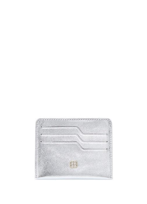 Beymen Hedıye Silver Logolu Kadın Deri Kartlık – 145.0 TL