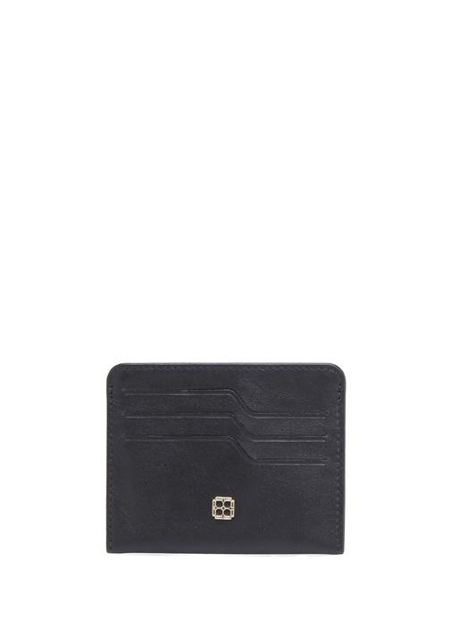 Beymen Hedıye Siyah Logolu Kadın Deri Kartlık – 145.0 TL
