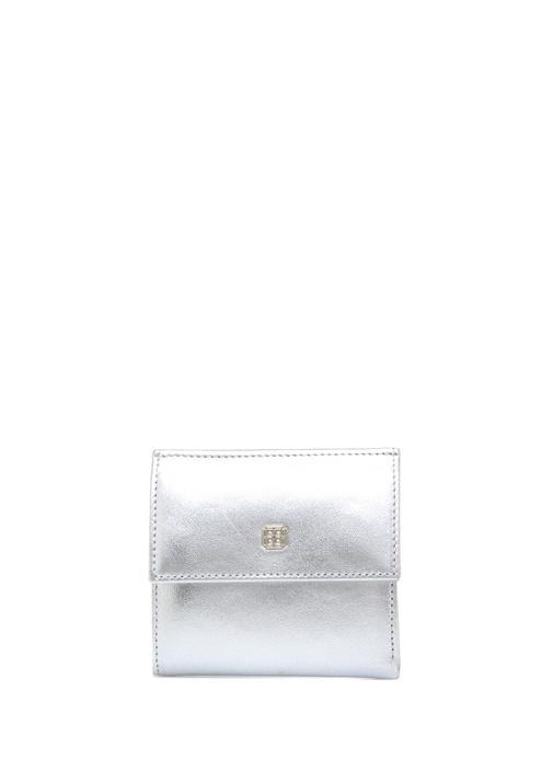 Beymen Hedıye Silver Logolu Kadın Deri Cüzdan – 245.0 TL