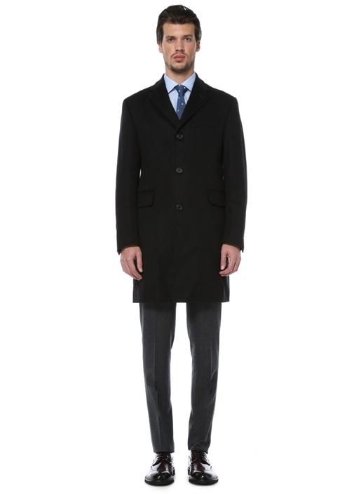 8  Drop Slim Fit Yün Kasmir Palto