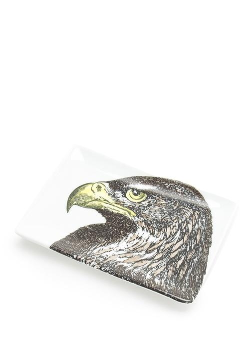 Aquila Kartal Baskılı Porselen Dekoratif Tabak