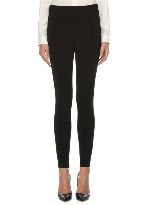 Extra Slim Fit Normal Bel Siyah Pantolon