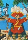 The Pirate And His Treas 36 Parça Puzzle