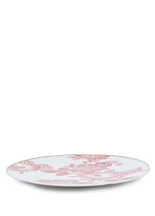 Coralina Çiçek Desenli Porselen Tabak