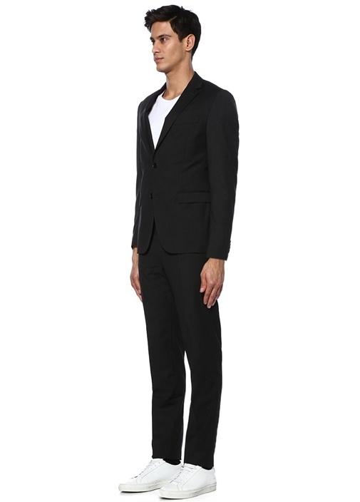 Antrasit Klasik Kelebek Yakalı Takım Elbise