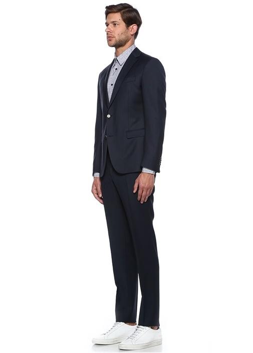 Lacivert Klasik İnce Takım Elbise